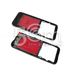 Nokia 220 Black Front Cover