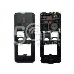 Nokia 220 Black Middle Frame