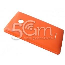 Nokia 532 Lumia Orange Back Cover