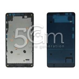 Nokia 535 Lumia Black LCD Frame