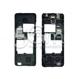 Middle Frame Nero Nokia 206 Dual Sim
