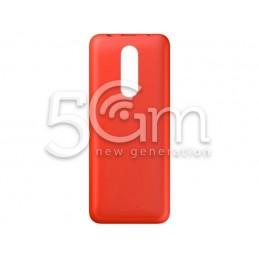 Retro Cover Rosso Nokia 108