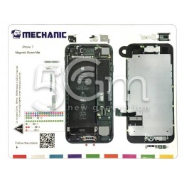 Mechanic Magnetic Screw mat iPhone 7