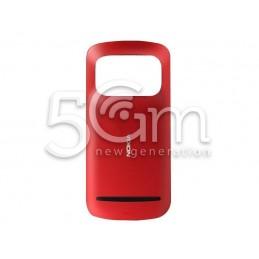 Retro Cover Rosso Nokia 808 Pureview