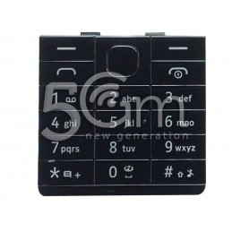 Tastiera Nera Nokia 515