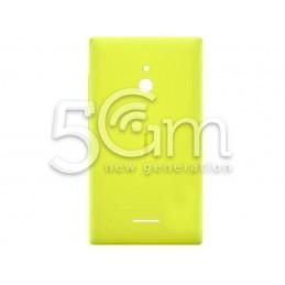 Retro Cover Giallo Nokia XL Dual Sim