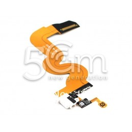 Connettore Di Ricarica Flat Cable Bianco iPod Touch 5 No Logo