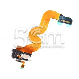 Connettore Di Ricarica Flat Cable Nero Ipod Touch 5