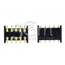 Connettore BTB 1PIE 2Row 10PIN 1.25PIT 1H Nokia 620 Lumia
