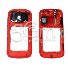 Retro Cover Completa Rossa Nokia 808 Pureview