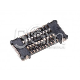 Nokia 520 Lumia BTB 2*10 F P0.4 30V 0.3A H0.8mm Connector