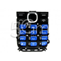 Nokia 112 Dual Black-Blue Keypad