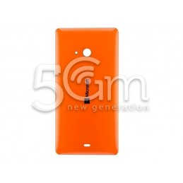 Nokia 540 Lumia Orange Back Cover