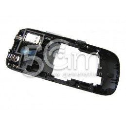 Nokia 203 Asha Black Middle Frame + Black External Keys