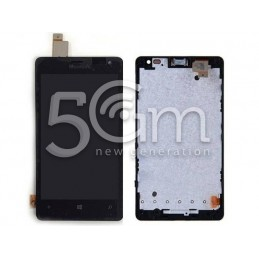 Display Touch Nero + Frame Nokia 435 Lumia