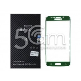 Premium Tempered Glass Protector Green Samsung SM-G925 S6 Edge