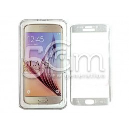 Premium Tempered Glass Protector Trasparent Glitter Samsung SM-G925 S6 Edge
