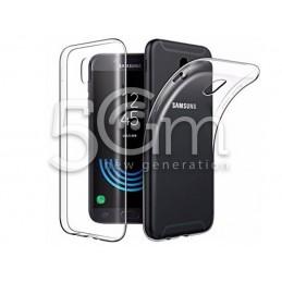 Custodia In Silicone Trasparente Samsung SM-G610F J7 Prime
