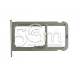 Supporto Sim card/SD Card Silver Huawei P9
