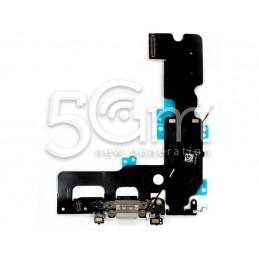 Connettore Di Ricarica Grigio Chiaro Flat Cable iPhone 7 Plus No Logo