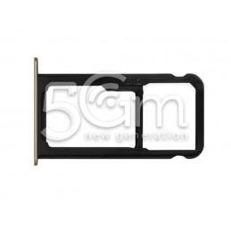 Supporto Sim Card/SD Card Gold Huawei P9 Lite