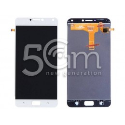 Lcd Touch White Asus ZenFone 4 Max Pro ZC554KL