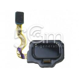 Tasto Home Nero Flat Cable Samsung SM-G950 S8