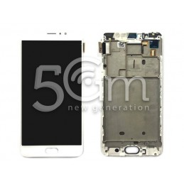 Lcd Touch White + Frame Meizu Pro 6 Plus