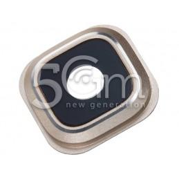 Vetrino + Frame Fotocamera Versione Gold Samsung SM-N920