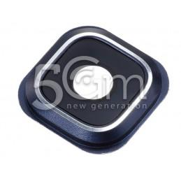 Vetrino + Frame Fotocamera Versione Dark-Blue Samsung SM-N920