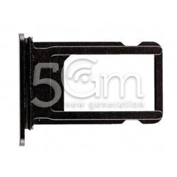 Supporto Sim Card Black iPhone 8