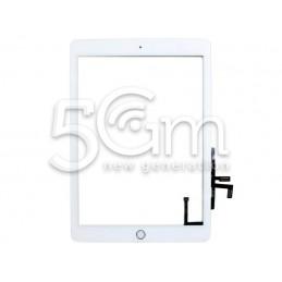 Touch Screen Bianco + Tasto Home iPad 2017 No Logo