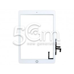 Touch Screen White + Home Button iPad 2017