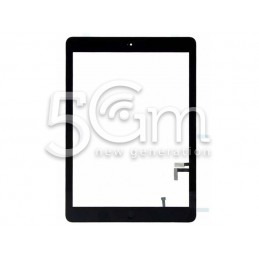 Touch Screen Black + Home Button Flat Cable iPad 2017