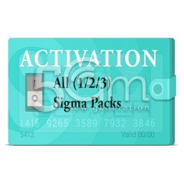 Sigma Pack 1 + Pack 2 + Pack 3 Activation