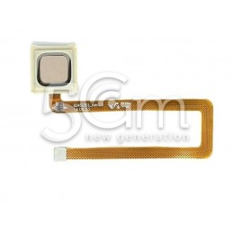 Fingerprint Gold Flat Cable Huawei Mate 7