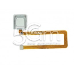 Fingerprint White Flat Cable Huawei Mate 7