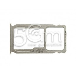 Supporto Sim card/SD Card Bianco Huawei Mate S