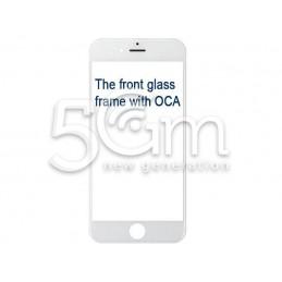 Vetro Bianco Con Pellicola Oca + Frame iPhone 6