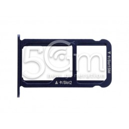 Sim card/SD Card Tray Holder Blue Honor 8