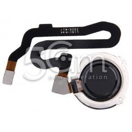 Fingerprint Black Flat Cable Honor 8