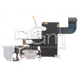 Connettore Di Ricarica Grigio Chiaro Flat Cable iPhone 6 TOP AAA No Logo
