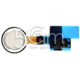Joystick Finger Print Bianco Flat Cable LG G5 H850