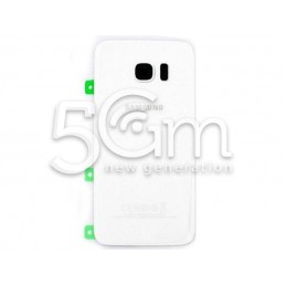 Samsung SM-G935 S7 Edge White Back Cover