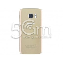 Samsung SM-G935 S7 Edge Gold Back Cover