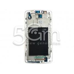 LG G3 D855 White LCD Frame