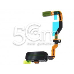 Tasto Home Nero + Flat Cable Samsung SM-G930 S7