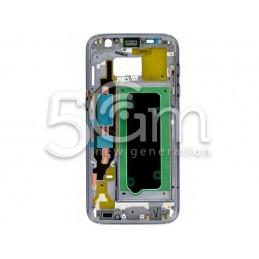 Samsung SM-G930 S7 Dark Silver Middle Frame