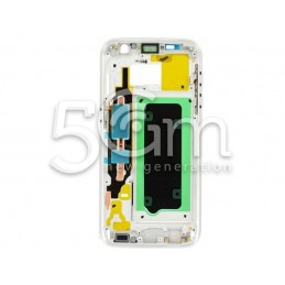 Middle Frame Silver-White Samsung SM-G930 S7