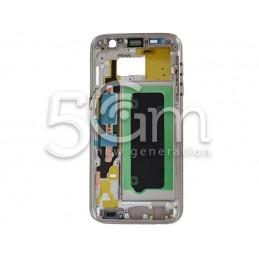 Samsung SM-G930 S7 Gold Middle Frame